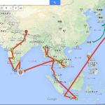 【Googleマイマップ】 旅ブログに便利!!!自分の旅ルートをわかりやすく表示させる方法(画像も可)