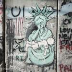 パレスチナ自治区  ~ 悲しき分離壁に無数に描かれたアートたち(心の叫び) ~