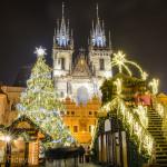 美しすぎる!城とクリスマスツリーが、相性抜群 ~ 東欧クリスマス巡り チェコ・プラハ ~