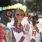 「死者の日」前前夜祭パレード!偶然見かけたら意外と大きかった!~メキシコシティ~