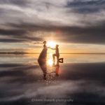 世界一の絶景ウユニでウェディングフォトがオススメ!フォト数組&ウユニプロポーズの瞬間を撮影しました。【映像有り】