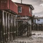 チロエ島の風情溢れるカラフル水上家屋・ウロコ壁。 ~チリ・パタゴニア~ / ゴール南極の予算60マン。